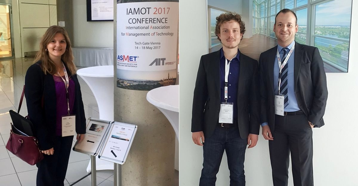 Chair of Industrial Management presented four new research articles