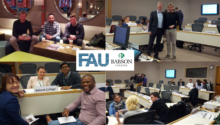 "Towards entry ""Siemens-FAU-MBA successfully started in the ""Finance"" module in Boston"""