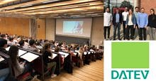 "Zum Artikel ""Passionate guest lecture on ""How does DATEV eG develop radical innovation?"" by Daniela Hecht & Boris Lingl"""