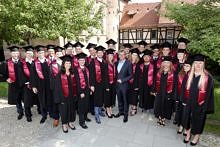 "Zum Artikel ""Graduation ceremony of the 13th MBA class ""Business Management"""""