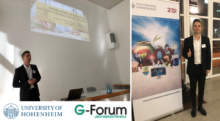 "Towards entry ""Latest research presented at the ""G-Forum"" conference 2018 in Stuttgart, Germany"""