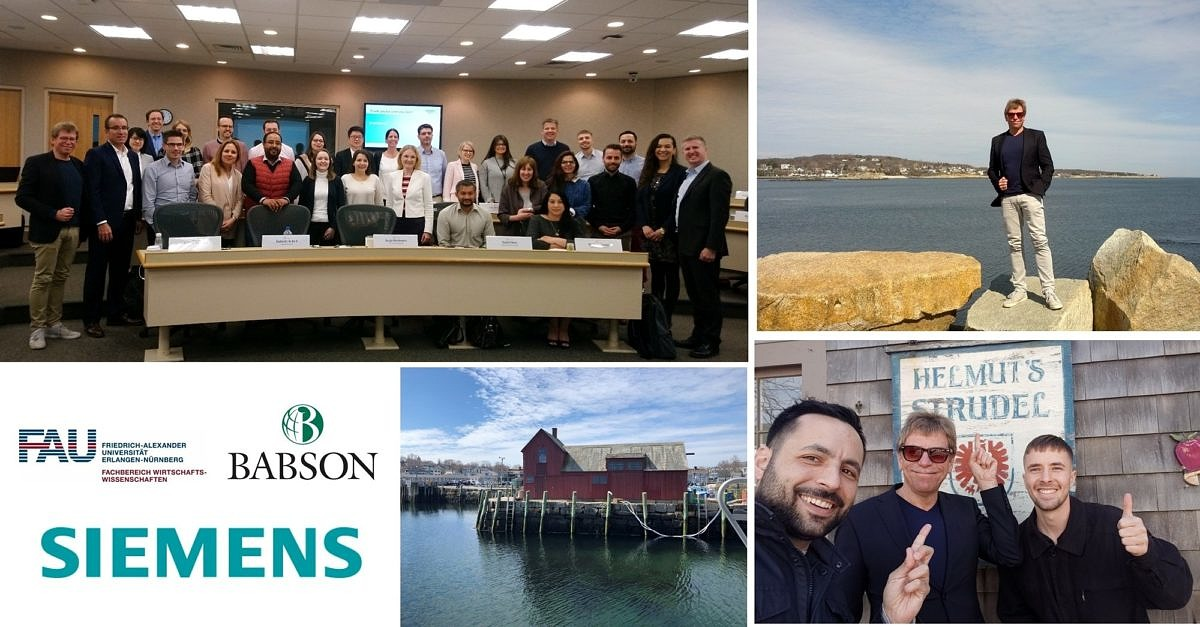 "Towards entry ""Module ""Finance"" of the Siemens MBA  ""International Leadership and Finance"" at Babson College in Wellesley successfully completed"""