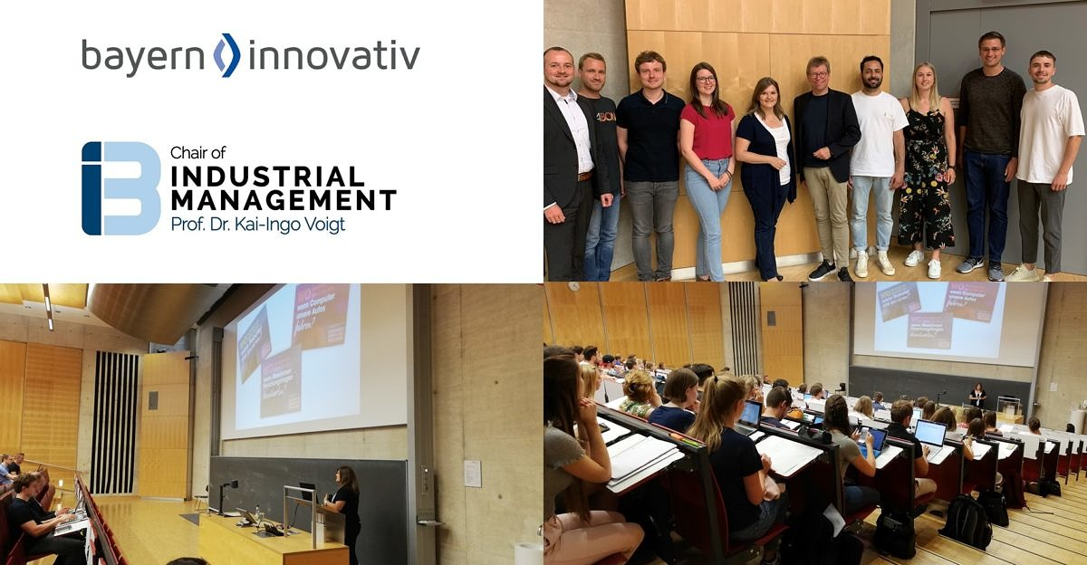 "Towards entry ""Making ""Bayern Innovativ"" – Guest Lecture by Dr. Tanja Jovanović"""
