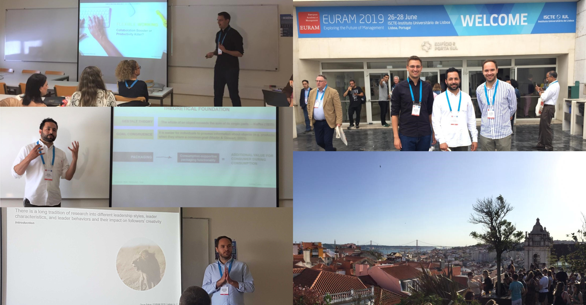 "Towards entry ""Research presented on Creativity, New Work, and Product Innovation at the EURAM conference in Lisbon, Portugal"""