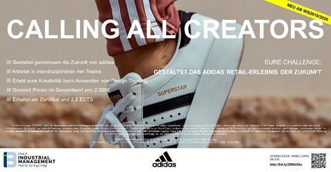 "Towards entry ""CALLING ALL CREATORS – Invitation to our new Creative Case Study together with adidas"""