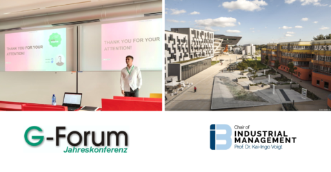 "Towards entry ""Latest research presented at the G-Forum  conference 2019 in Vienna, Austria"""