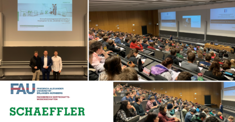 "Towards entry ""Excellent guest lecture on ""Shaping the Mobility of Tomorrow"" by Dr. Daniel Kiel, Innovation Manager @Schaeffler"""