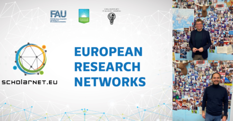 "Towards entry ""EU funded project ""SCHOLARNET"" kicked-off in cooperation with universities from Bulgaria and France"""