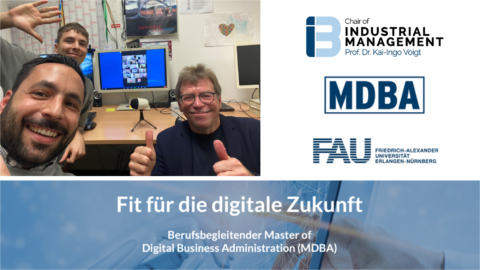"Towards entry ""First ever ""Digital Innovation and Business Models"" Module of the new Master of Digital Business Administration (MDBA) successfully kicked-off"""